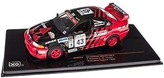 43 Tahara guy Fumio Rally New Zealand # ixo 1/43 Mitsubishi Lancer EVO V 1999 (japan import)
