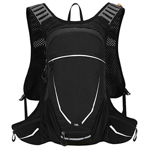 Adlereyire Fahrradrucksack 18L - Wasserdichter Ultraleicht Reiserucksack mit Trinksystem - Sportrucksack Tagesrucksack - Ideale zum Skifahren und Radsport - Unisex