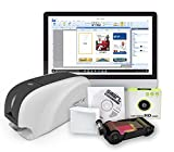 IDP SMART-31 Series ID Card Simplex Printer Bundle with USB Camera, Software, Manual and Guides - Includes 250-Print YMCKO Color Ribbon and 100 PVC Plastic Cards - Now with SMARTMark Security