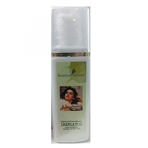 SHAHNAZ HUSAIN HERBAL SHAMLA PLUS Hair Cleanser Normal To Dry Hair 200 mL