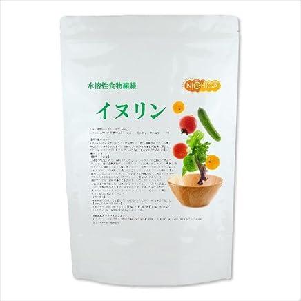 イヌリン 500g 水溶性食物繊維 新製法高品質 いぬりん キクイモやチコリに多く含まれています [01] NICHIGA(ニチガ)