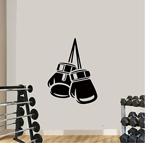 Fitness Boxhandschuh Wandaufkleber Wandbild Tapete für Jungen Zimmer Boxen Fitness Fitness Kinderzimmer Dekoration 30cm x 39cm