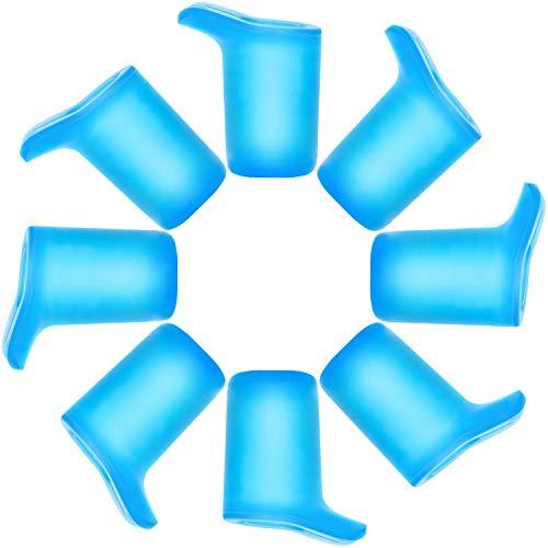 Ootge Eddy+ und Groove Trinkflasche, Zubehör nur passend für CamelBak Eddy + Cap, himmelblau, 8 Bite Valves