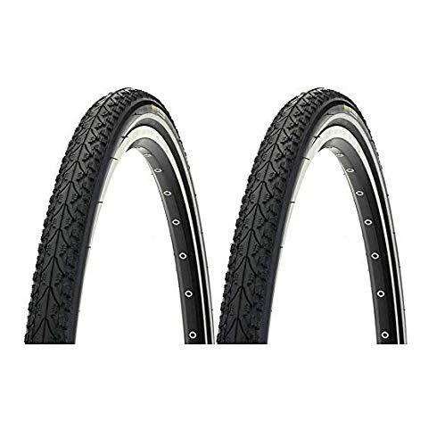 P4B | 2x 28 Zoll Fahrradreifen | Komfortables Rollen | Reflexstreifen + Pannenschutz | 28 x 1 3/8 x 1 5/8 | 37-622 | Für Vorderrad + Hinterrad | Pannenschutzreifen | Reflexreifen