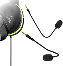 Ninge Replacement Microphone 3.5mm Game Mic Boom - PDP Afterglow AG 6 Wired Xbox One PS4 Gaming Headset-Turtle Beach Ear Force XO ONE Stealth 420X Recon 320 Z60