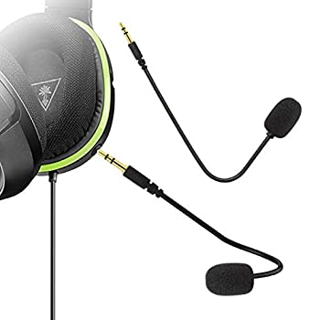 Ninge Replacement Microphone 3.5mm Game Mic Boom - PDP Afterglow AG 6 Wired Xbox One PS4 Gaming Headset -Turtle Beach Ear Force XO ONE Stealth 420X Recon 320 Z60