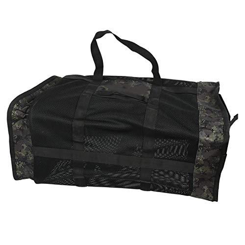 SALUTUYA Bolsa portátil para Equipos de Buceo al Aire Libre de Alta Capacidad 105L, para Exteriores, para bucear(Forest Camouflage, 105L)