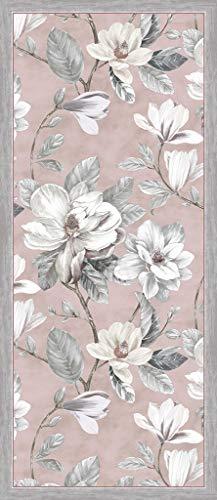 Vilber Magnolia DU 04 78X180 Alfombra, Vinilo, Rosa, 78 x 180 x 0.22 cm