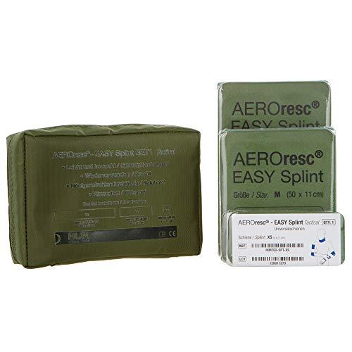 AEROresc® Easy - Juego de pasadores (versión táctica), color verde y gris