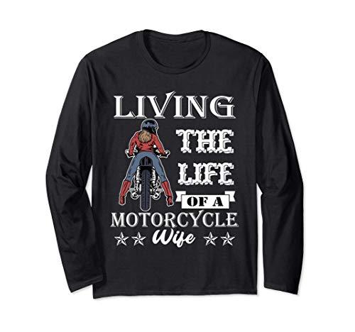Regalo de frenos Mujer Mujer Moto Esposa Moto Chica Moto Manga Larga