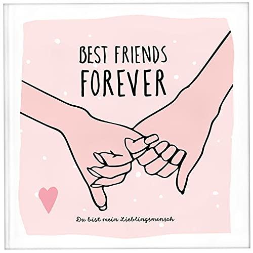 Best Friends Forever - das Erinnerungsalbum für die beste Freundin zum Ausfüllen   Freundebuch für Mädchen und Erwachsene   Erinnerungsbuch beste Freundin   Beste Freundin Geburtstagsgeschenk