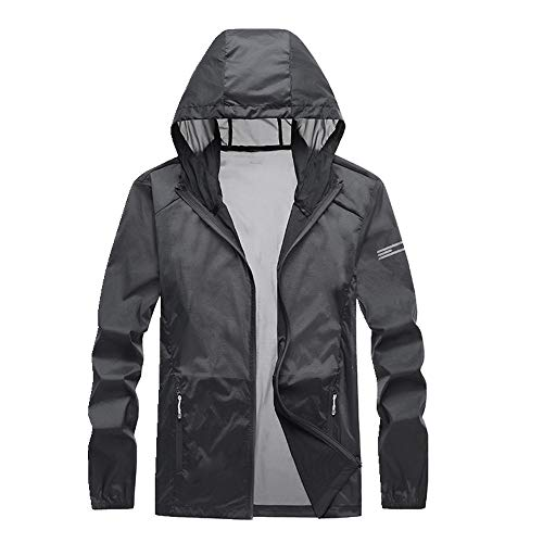 Sun Proof Clothing Herren Hautbekleidung Outdoor Sport im Sommer Ultra Gr. XXX-Large, Schwarz