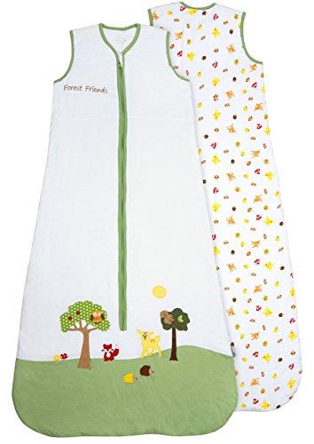 Schlummersack Baby Sommerschlafsack 1 Tog 110cm/12-36 Monate - Waldtiere