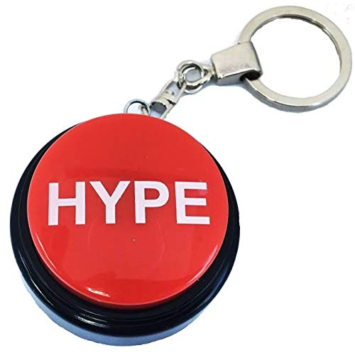 Lowest Price! HYPE2Go: Keychain Hype Button | Hip Hop Air Horn Sound Effect Button (BATTERIES INCLUD...