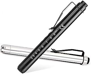 【2本セット+電池付き】 LED ペンライト 瞳孔計 ミニ懐中電灯 防水 軽量 停電対策 防災緊急用