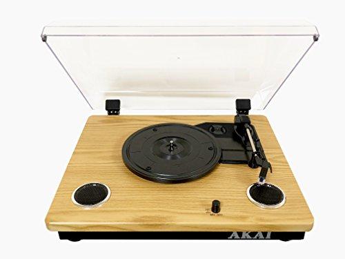 AKAI RW500 platenspeler, compatibel met 18-25-30 cm, Bluetooth