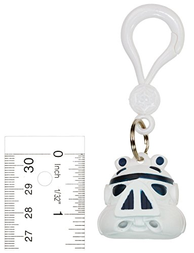 Stormtrooper Pig ~1.4' Backpack Clip: Angry Birds Star Wars Hangers Collection (Loose Figure Backpack Clip)