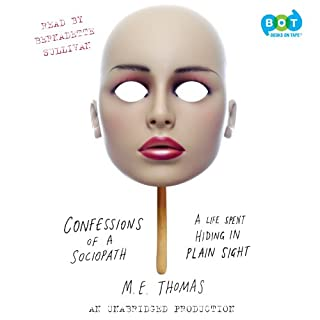 Confessions of a Sociopath audiobook cover art