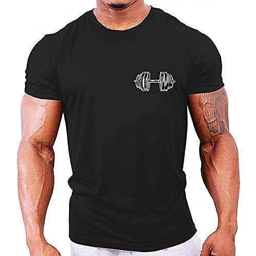 Herren-Sport-T-Shirt, Hundemarken,...