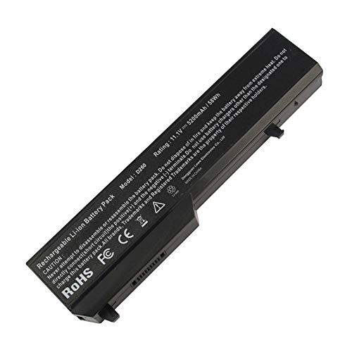 Laptop Notebook Battery for Dell Vostro 1520 1510 2510 1310 1320, fits P/N T116C T114C 312-0922 N956C K738H