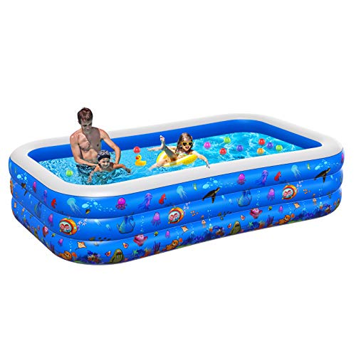 swimming pools for toddlers Inflatable Pool for Kids, 2021NEW Plastic Kiddie Pool, 96