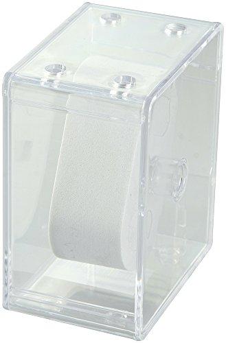 Uhrenbox für eine Uhr Maße : 5,7 x 9,8 x 8,4 cm