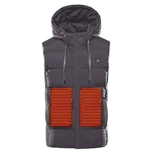 41E4nKtcOaL. SS500  - For Riding Bicycle and Motorcycle,Fishing,SkiingHeated Vest,Men's Heated Vest, Lightweight Electric Gilet Jacket…