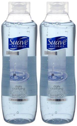 Suave Essentials Shampoo Daily Clarifying 22.5 Ounce 2 Pack