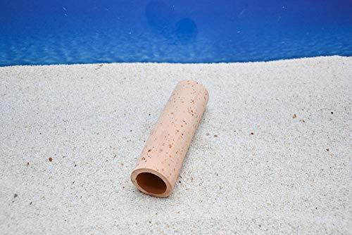 Amtra Zylinder 15cm Größe XL Ton Aquarium-Deko Höhle Versteck Laichhöhle