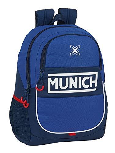 safta 612074665 Mochila Escolar de Munich Retro, 320x160x440mm