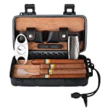 CiTree Cigar Travel Humidor Case - Waterproof Portable Cigar Case - Holds up to 4 Cigars - Cigars Gift Set