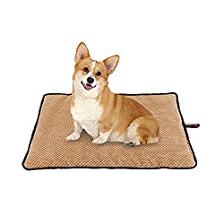 PAWISE Dog Bed Cat Bed Dog Mat Cushion Waterproof for Crate Outdoor Car Mat Machine Wash
