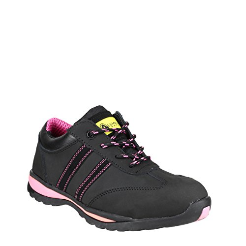 Female - Amblers Steel FS47 S1-P Trainer Black Size UK 5 EU 38 US 7.5