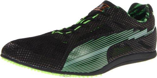 PUMA Bolt Evospeed Long dist-u, Black/Fluorescent Green, 12 D US