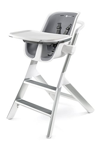 4moms high Chair – Easy to Clean with Magnetic, one-Handed Tray Attachment, from The Makers of The mamaRoo