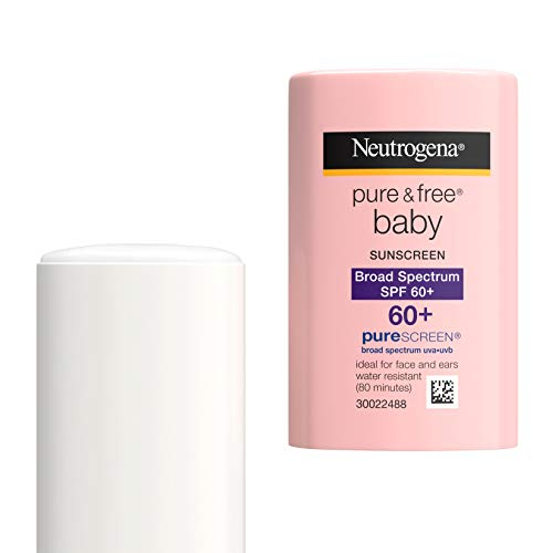 Neutrogena Pure & Free Baby Mineral Sunscreen Stick with Broad...