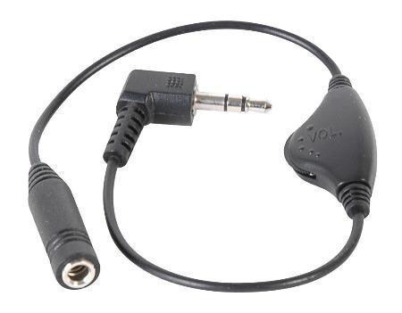 Inline Volume Control for 3.5MM Headphones,Black