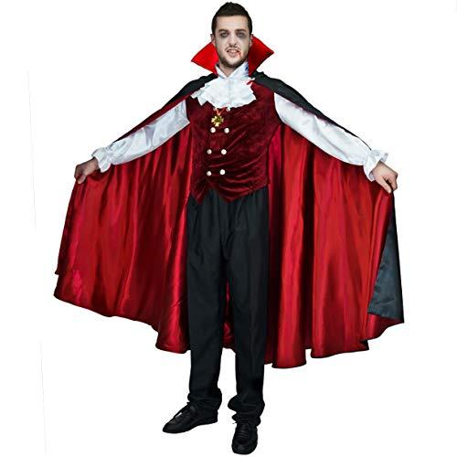 SEA HARE Costume Gotico Vampiro Adulto