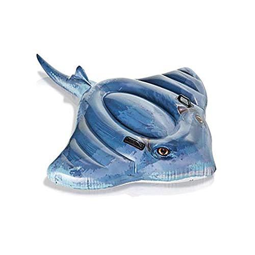Jia Hu 1 unid agua natación barco asiento paseo anillo inflable flotante fila cama reclinable silla playa piscina entretenimiento