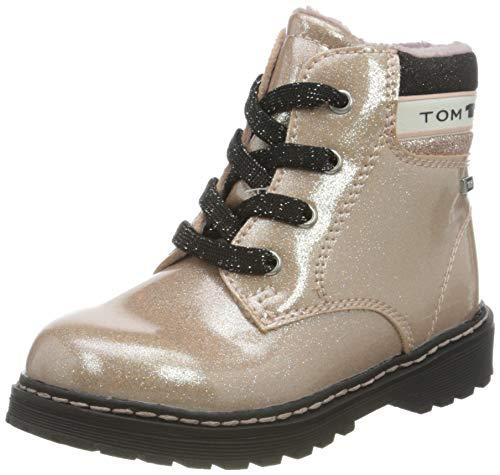 Tom Tailor Baby-Mädchen 9071501 Halblange Stiefel, Rose, 23 EU