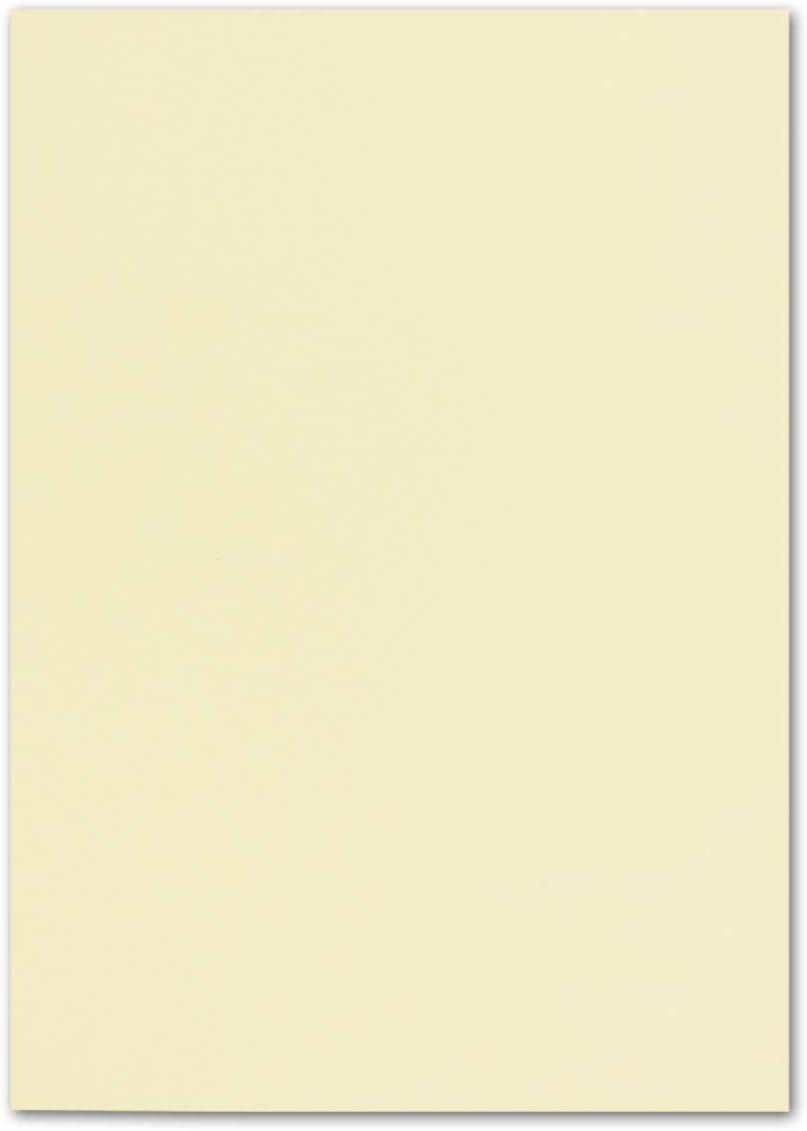 FarbenFroh/® 25 fogli di carta formato DIN A4 colore: Blu notte 21 x 29,7 cm 240 g//m/²