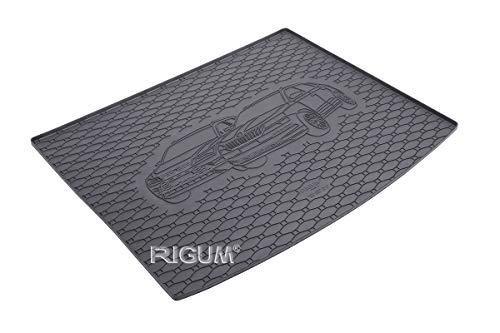 RIGUM Passgenaue Kofferraumwanne geeignet für SEAT Ateca 4x4 ab 2016 + Autoschoner MONTEUR