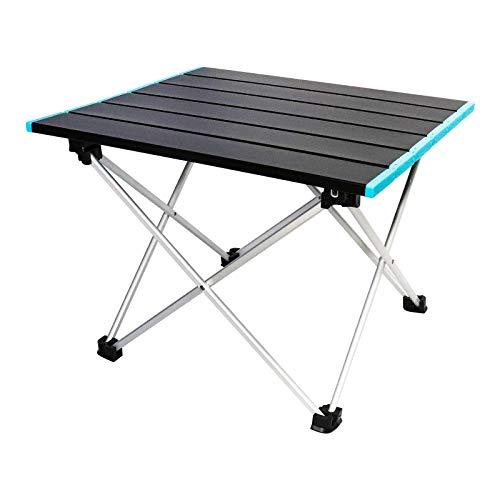ValueHall Mesa de Camping Plegable de Aluminio Mesa de Picnic Plegable Portátil Ultraligero Mesa de Camping Mesa Playa de Acampar para Senderismo Picnic Viaje BBQ V7D05