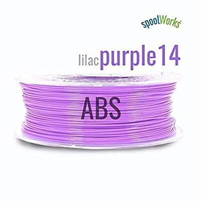 spoolWorks ABS Filament (1.75mm, Purple)