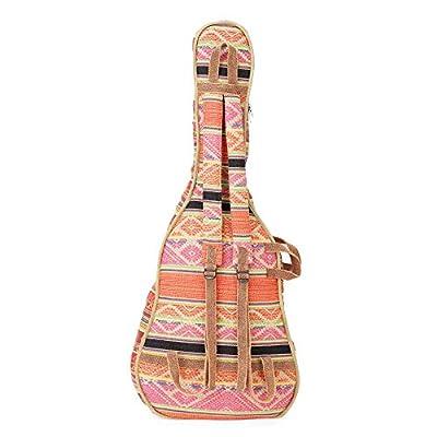 The House Of Tara Handloom Fabric Guitar Case (Multicolor 10) 4
