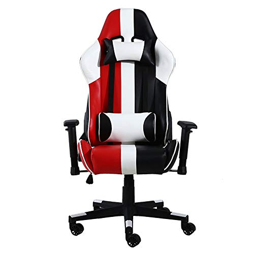 2019 Reclining Memory Foam Racing Gaming Chair, Ergonomische High-Back Racing Computer bureaustoel draaibare stoel