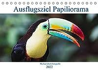 Ausflugsziel Papiliorama (Tischkalender 2022 DIN A5 quer): Das Papiliorama entfuehrt Sie in die Welt der Tropenwaelder. (Monatskalender, 14 Seiten )