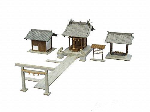 さんけい 1/150 なつかしのジオラマシリーズ 小さな神社 - さんけい(Sankei)