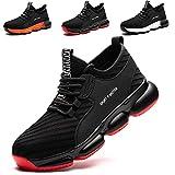 SROTER Chaussures de Sécurité pour Homme Femme, Standard S1 Embout Acier Respirant Chaussures de Travail Légère Chantiers et Industrie Basket