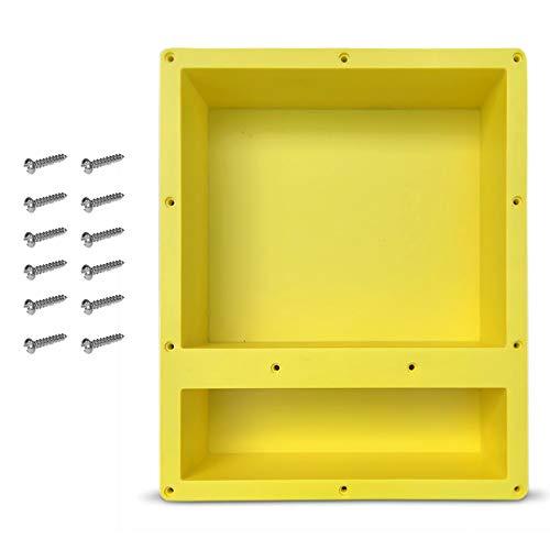 3 diverse dimensioni e colori Nido da parete in acciaio INOX ANAQ